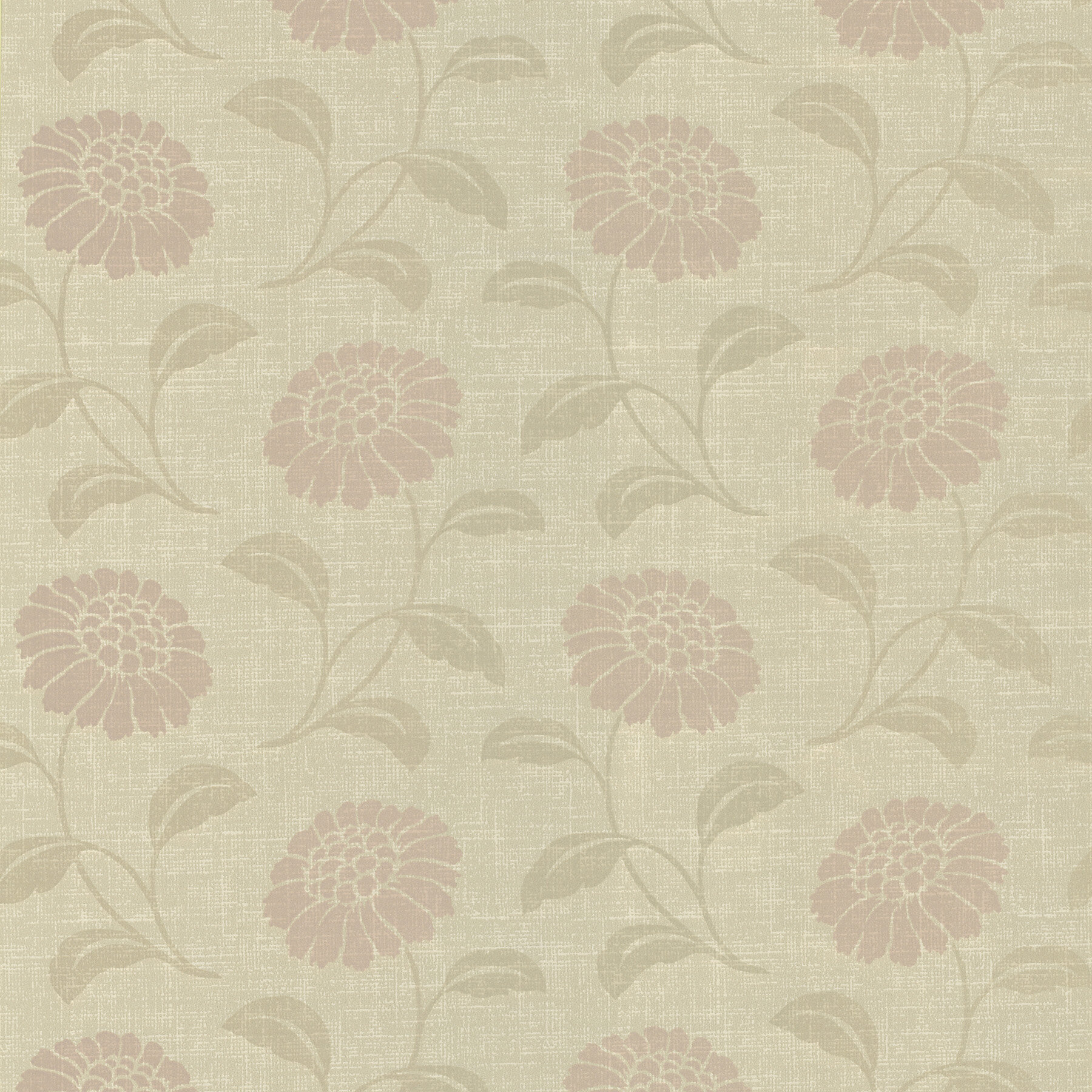 August Grove Cal Modern 33 X 20 5 Floral 3d Embossed Wallpaper