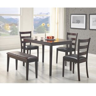 Harting 5 Piece Dining Set Red Barrel Studio
