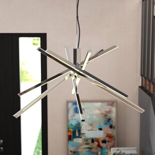 Wade Logan Dublin 1-Light Sputnik Chandelier