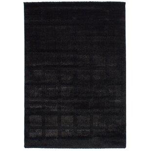 Purmerend Black Area Rug ByBrayden Studio