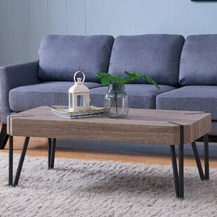 Harrell Oak Coffee Table