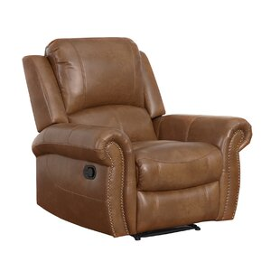 Bitter Root Leather Manual Recliner