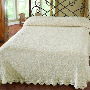 colonial rose matelasse bedspread - Bedspreads King Size