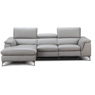 Serena Leather Reclining Sectional