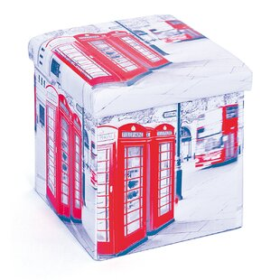 Setti Foldable Box London With Lid By Symple Stuff