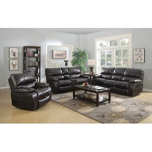Red Barrel Studio Bomberger Reclining Configurable Living Room Set