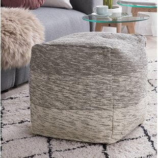 Reuter Cotton Pouf by Williston Forge