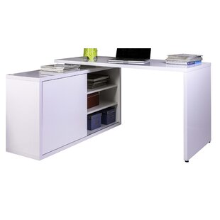 Westside L-Shape Executive Desk By Ebern Designs