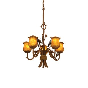 Kalco Ponderosa 5-Light Shaded Chandelier