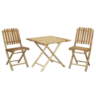 3 Piece Bistro Set by Bamboo54 Reviews