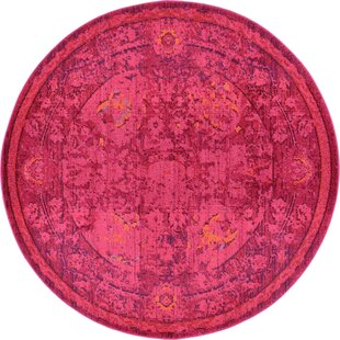 Nadene Red Area Rug by Mistana
