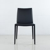 Sperazza Leather Upholstered Dining Chair by Orren Ellis