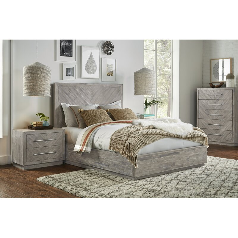 Platform Solid Wood Configurable Bedroom Set Reviews Joss Main