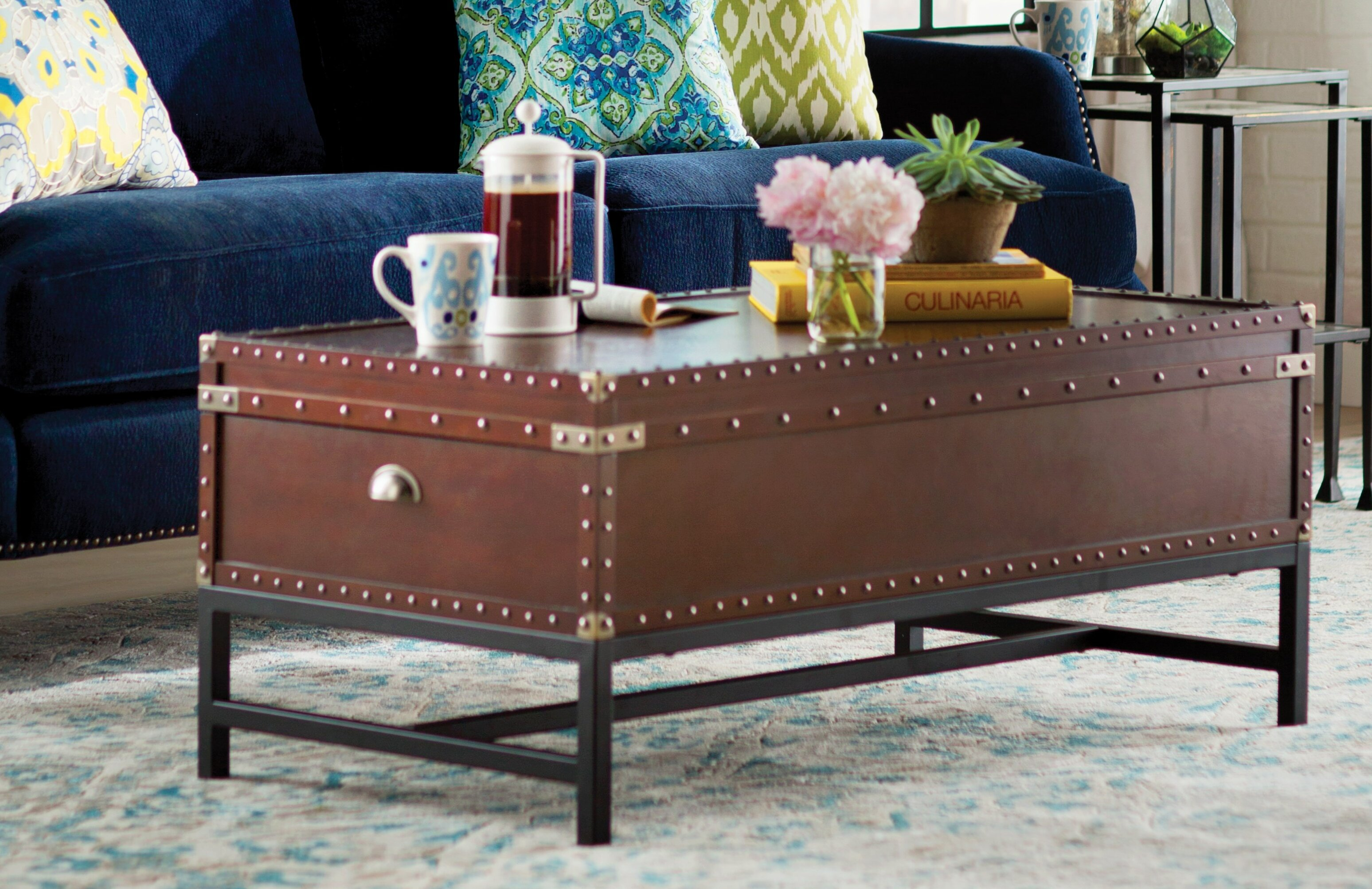 Trent Austin Design Aztec Trunk Coffee Table & Reviews