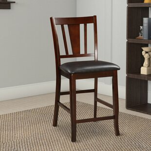 Stahlman Wooden 24 Bar Stool Set of 2 by Millwood Pines