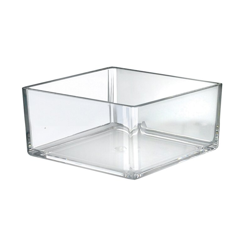 Deinbe Transparent Table Drawer Home Office Paper Files Gadgets Makeup Tools Storage Box Multiple Layer Desk Organizer Case