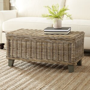 Rivera Rattan Coffee Table by Birch Lane?