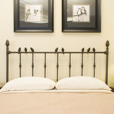 Georgetown Slat Headboard Benicia Foundry and Iron Works Size: California King