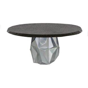 Arcadia Aluminum Dining Table by Leona
