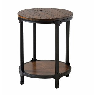 Diller End Table by Gracie Oaks