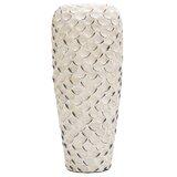 Isidro Abalone Shell Ceramic Floor Vase