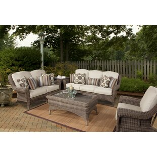 Provence Deep Seating Group with Cushions by South Sea Rattan