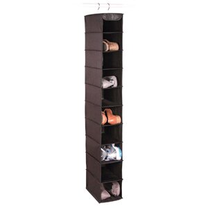 Price comparison Expressive Closet Storage 10-Compartment Hanging Shoe Organizer By Richards Homewares