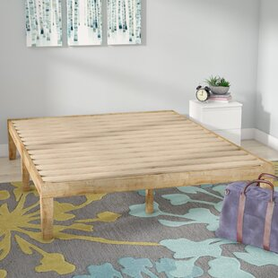 Alwyn Home Solid Wood Platform Bed