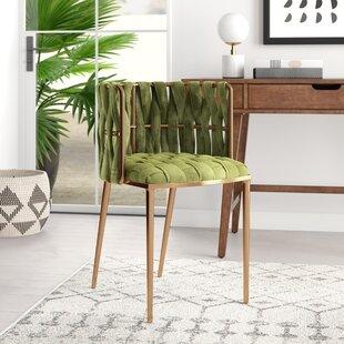 Modern Contemporary Faux Fur Dining Chair Allmodern