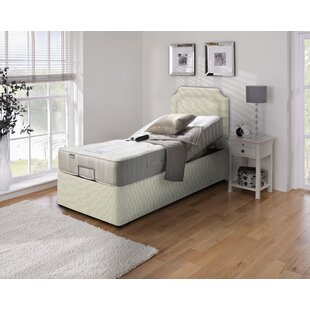 Abbeyville Upholstered Adjustable Bed With Mattress By Symple Stuff
