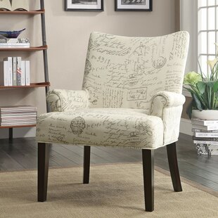 Ophelia & Co. Waldman French Script Armchair