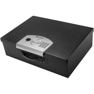 Digital Portable Keypad Lock Security Safe 0.63 CuFt by Barska