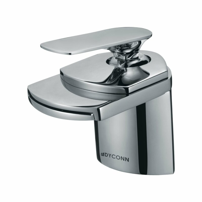 Dyconn Faucet Waterfall Single Hole Handle Bathroom Faucet & Reviews ...