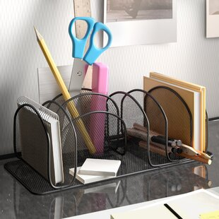 Mesh Deluxe Desk Organiser By Wayfair Basics