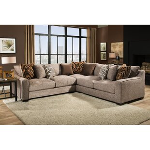 Darby Home Co Wilma Sectional