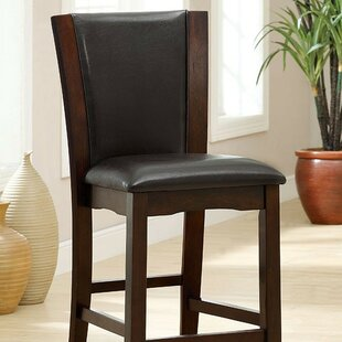 Overcash Counter Height Upholstered Dining Chair (Set of 2) Latitude Run