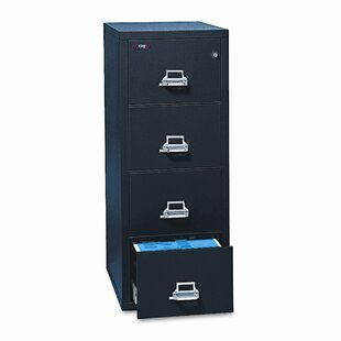 Fireproof Insulated 4-Drawer Vertical File
