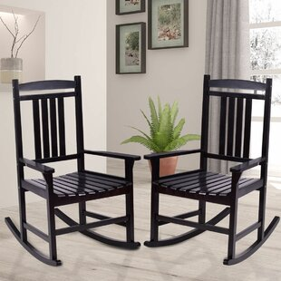 Darlene Patio Rocking Chair (Set of 2)