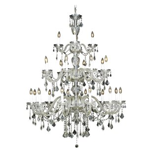 Journey 24-Light Candle Style Chandelier by Rosdorf Park