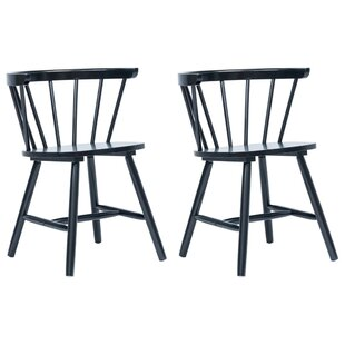 Alsager Solid Wood Dining Chair (Set Of 2) By August Grove