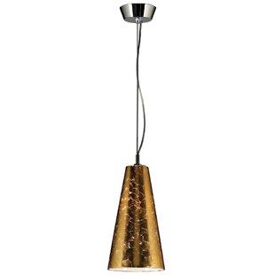 Ebern Designs Keswick 1-Light Cone Pendant