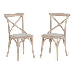 Cian Solid Wood Dining Chair (Set Of 2) By August Grove