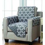Reversible Box Cushion Armchair Slipcover