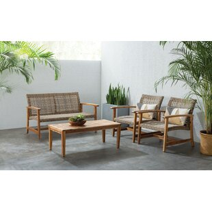 Raquel 4 Piece Sofa Set