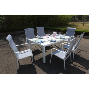 Latitude Run Herald 7 Piece Dining Set