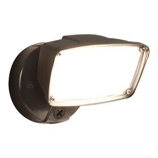Single Head 30-Watt LED Outdoor Security Flood Light by Cooper Lighting LLC
