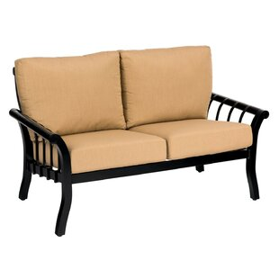 Rhyss Loveseat With Cushions by Woodard Cool