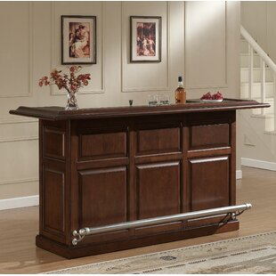 Catania Bar with Wine Storage by American Heritage