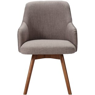 Vanderhoff Upholstered Dining Chair by George Oliver 2019 Sale
