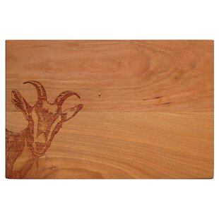 Goat's Eye View Wood Artisan Cherry Board